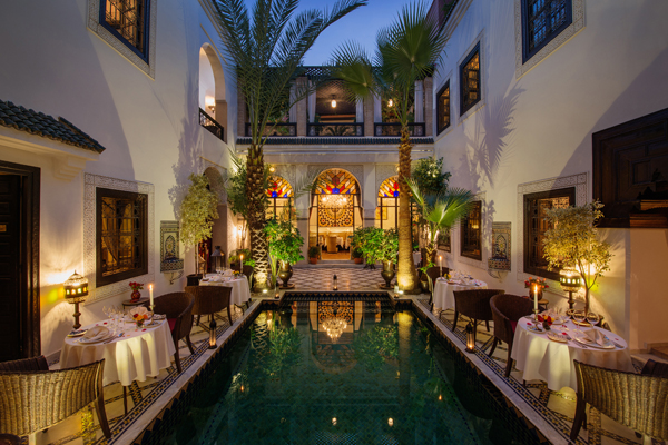 Riad Monceau patio