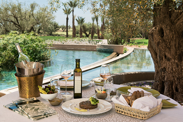 Royal Palm Hotel restaurant terrace