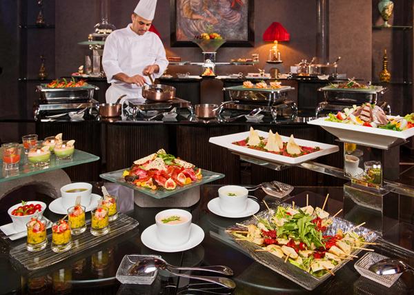 Selman Marrakech buffet