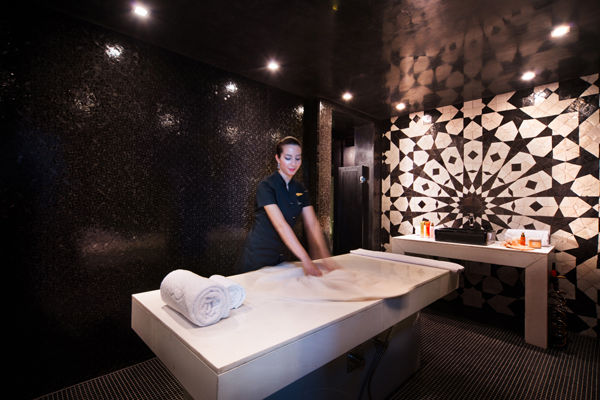 Sofitel casablanca massage room alan keohane professional for Salon zen casablanca