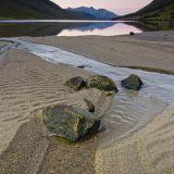 Stream, Loch Etive Dawn