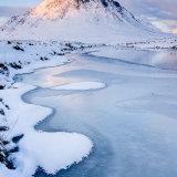River patterns Buchaille winter