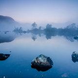 Dawn Mist Lochan na h-Achlaise Rannoch Moor 3