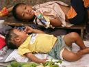 Contented babies Thailand
