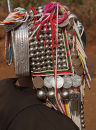 Akha hill tribe silver headdress
