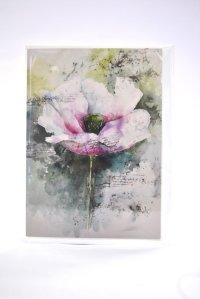 Pimperne Poppy greetings card