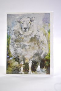 Who ewe looking at? greetings card