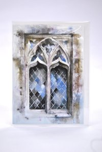 Holy Trinity Window greetings card