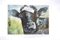Nosy Cow greetings card