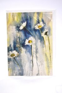 Hampshire Daisies greetings card
