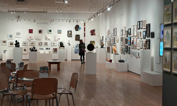 ING Discerning Eye 2015 at the Mall Galleries