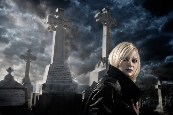 Cemetery Morn'