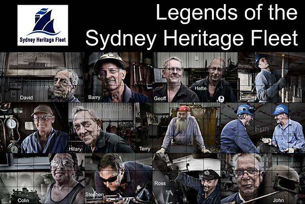 Legends of the Sydney Heritage Fleet