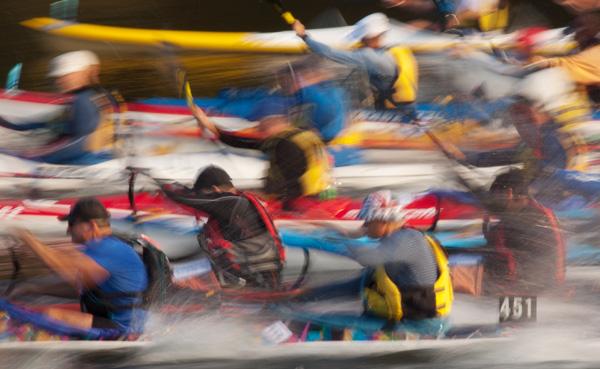 Hawkesbury Canoe Classic Start