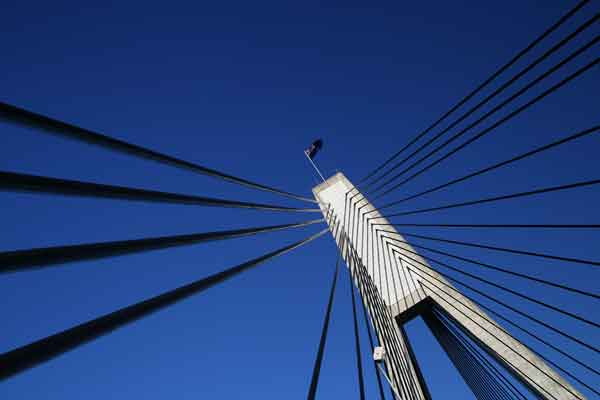 ANZAC Bridge Flag