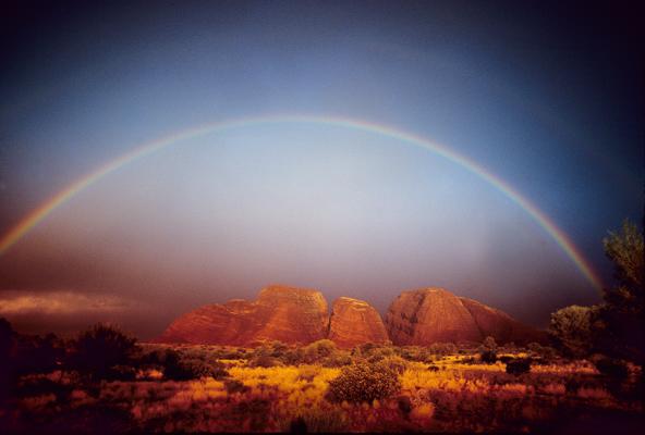 Kata Tjuta Rainbow