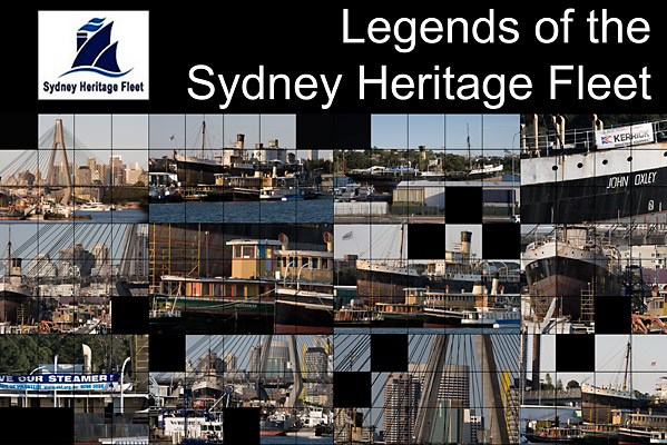 Collage of the Heritage Fleet