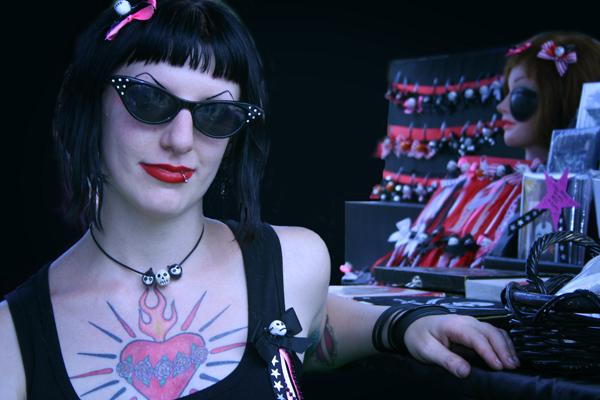 Women with Voodoo dolls