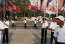 Reunification Rally. Pyongyang.
