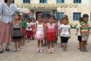 Kindergarden. Collective Farm. DPRK.