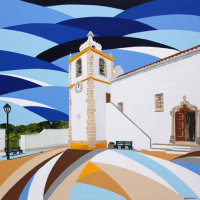 'Alvor Church' SOLD