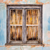 'Old Window - Odelouca' SOLD