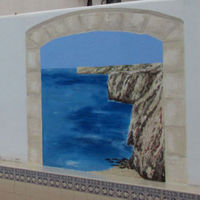 External Wall Mural Painting