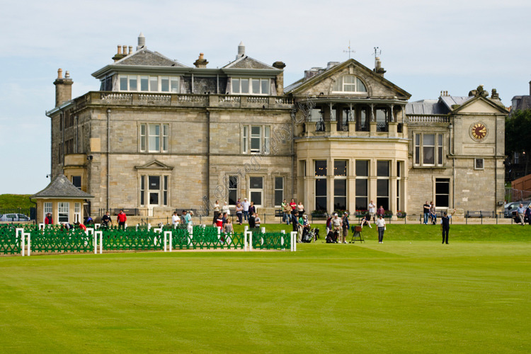 AANWG R & A Clubhouse and 1st Tee 3660