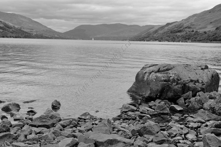 AANWW Loch Earn in B/W 3773BW