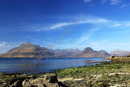 AAPWL 2170 Isle of Skye Cuillins from Elgol Bay
