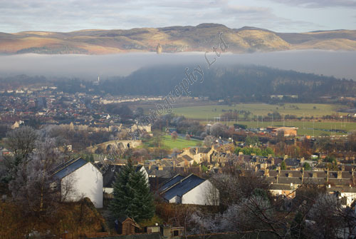 AAPWL 4374X Wallace Monument in Mist