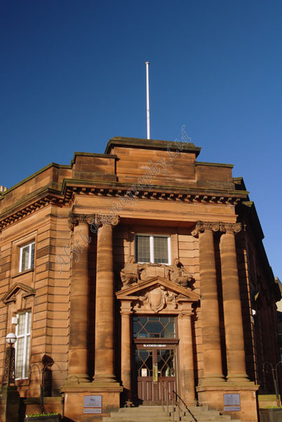 AAPWS Blackness Library Dundee 4060 X