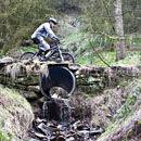 Mountain biker at Afan