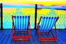 2 Deckchairs on Pier
