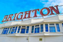 Brighton sign and sky