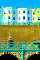 Esplanades and buildings