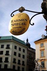 gold shop sign, Vienna