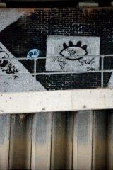 'eye' graffiti