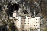 Castle in mountain, Slovenia