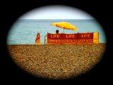 Lifeguard station vignette