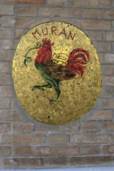 Murano cockerel