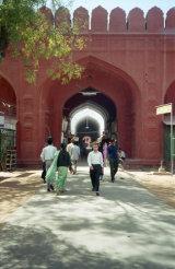 Red Fort entrance