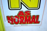 as normal