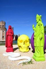bright sculptures