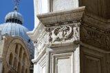 pillar in Doge's palace