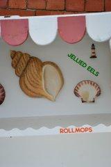 seafood stall decor