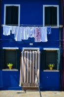 Blue House & White Washing, Burano
