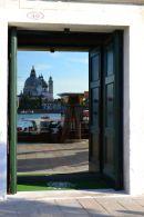 Reflection in Doorway