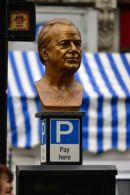 Bust on Parking Metre