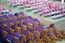 Purple & Pink Chairs, Eastbourne